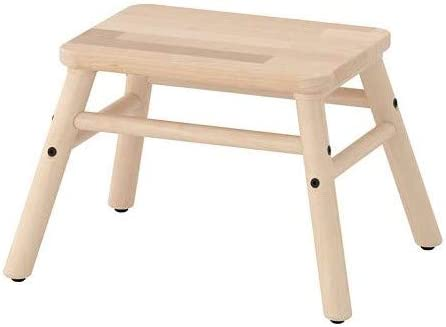 Taburete Ikea Step VILTO BircH: Amazon.es: Hogar
