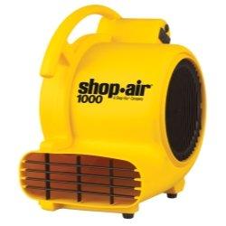 Shop Air 1000, Medium Portable Air Mover Tools Equipment Hand Tools