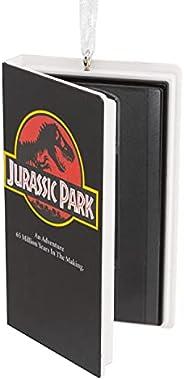 Hallmark Jurassic Park Retro Video Cassette Case Christmas Ornament