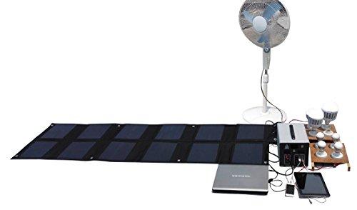 MEGASOLAR 300W Solar Generator Solar System with 288Wh LiFePO4 battery, Solar & AC Input, 300w 110v AC Inverter 4 USB 2 QC3.0 312v 15v 20v DC output, TFT Display, charged by Solar Charger Solar Panel by SZMJSOLAR (Image #6)