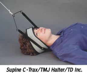 Supine C-Trax Standard Halter - Intermittent, Patient-controlled Supine Cervical Traction