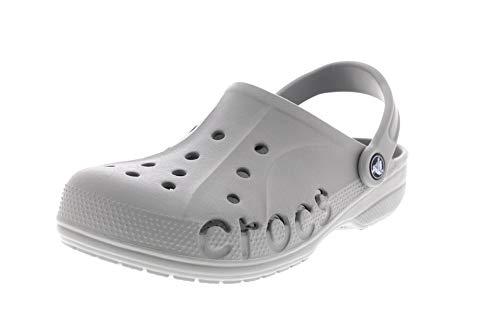 Adulto Crocs Baya Chiaro Sabot Unisex Grigio WpxF7W8zwq
