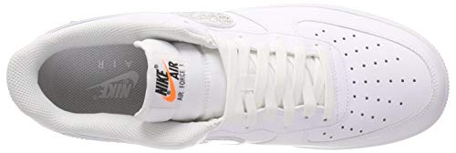 Nike Lntc Chaussures Homme Orange JDI Black '07 Multicolore Gymnastique Force Lv8 de White Air 1 100 Total 0qvr0Y