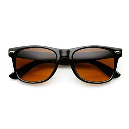 Blue Blocking Driving Amber Tint Lens Sunglasses