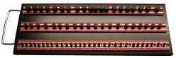 Red Vim Products MRTRAY14R Magrails Socket Tray with 3-14 Magrails