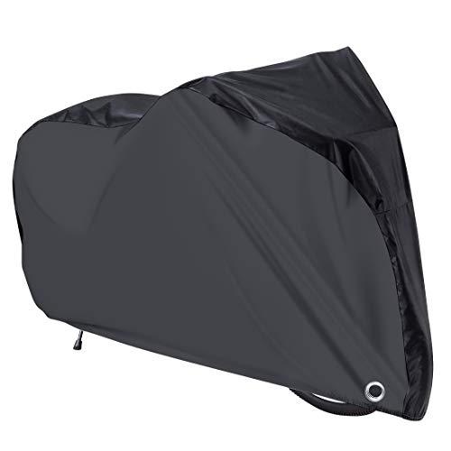 LAMA Fietshoes [211 x 110 x 70cm] Fietshoes, waterdichte fietslaag, anti-UV-hoes, zware hoes met slotgaten en opbergtas…