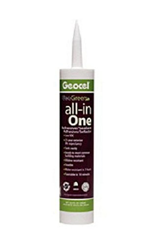 Geocel GC79000 RV Trailer Camper Sealants Adhesives/Sealant Clear 10.3 Oz. (1) by Geocel