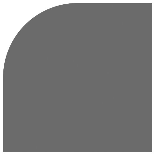 Fiskars 01-005484 Lever Punch, Corner, Round, Medium