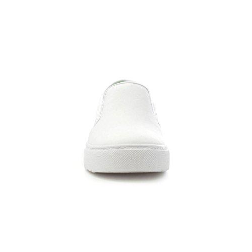 Lilley Beleg auf Segeltuch-Schuh IM Weiß für Frauen durch Weiß