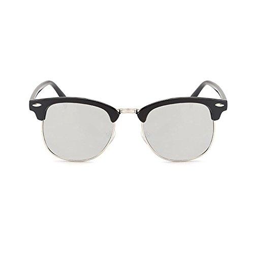 Film couleur boîte lunettes de soleil réfléchissantes mode marée lunettes de soleil de plage lunettes de soleil de conduite voyage dans le , c