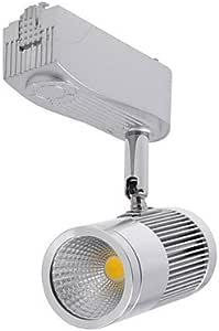 Ledtcx 5W 450lm 3000K COB Warm White Light LED Track Light (AC 85~265V Silver)