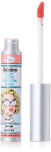 Jour Lip Stain, Hola! Long Lasting, Soft, Creamy, Moisturizing (Makeup Stain)