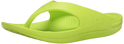- Flip Flop Soft Sandal Shoe Footwear by Telic, Key Lime, S