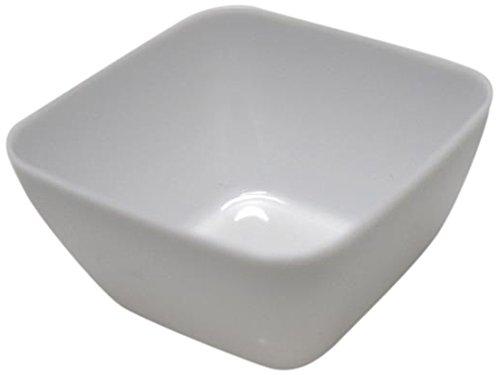 Homeford Appetizers Dessert Plastic Bowls, Mini, White, 18-Pack
