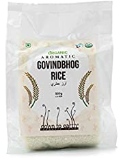 Down to Earth Organic Aromatic Govindbhog Rice   100% Natural   Rich in Proteins   Govindobhog Bengal Rice- 500G