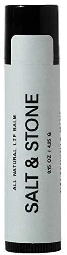 SALT & STONE: Organic and All Natural Lip Balm, Non-GMO, California Mint Lip Protection 0.15 FL OZ