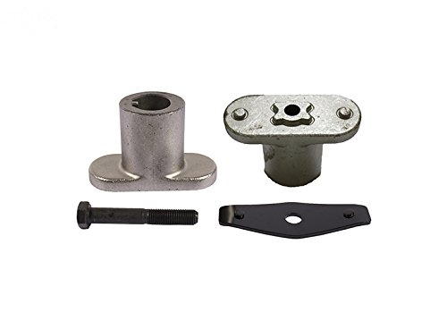 Blade Adapter Kit Replaces MTD 756-0609, Includes 748-0377E (same as 748-0377C) Adapter, 710-1251 Hex Bolt, 736-0524B (same as 736-0524A) Blade Bell Support