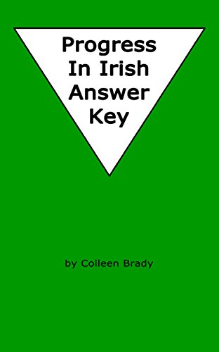 Progress in Irish Answer Key