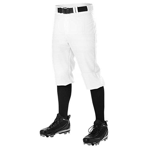 DON PWRPKP KNICKER Alleson Athletic Pants PANT Mens Baseball UNIFORM A White XS