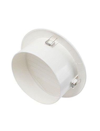 Weiß ABS Air Vent Outlet Louver Lüftungsgitter für 200mm Ducting