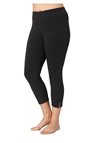Vent Cropped Pant - 3