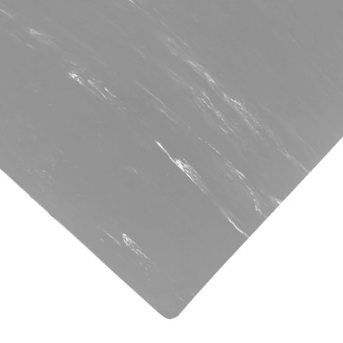 Gray Marble Mat (NoTrax Rubber 470 Marble Sof-Tyle Anti-Fatigue Mat, for Dry Areas, 2' Width x 3' Length x 1/2