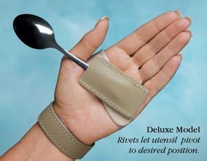 - Rolyn Prest Wrist Support with Palmar Swivel Clip Large 3? Left