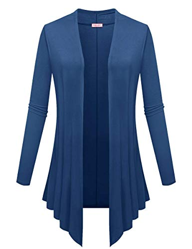 BELAROI-Women-Plus-Size-Open-Front-Lightweight-Soft-Drape-Light-Long-Cardigan