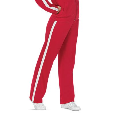 Amazon.com: Rival Pantalones de calentamiento, Rojo/Blanco ...