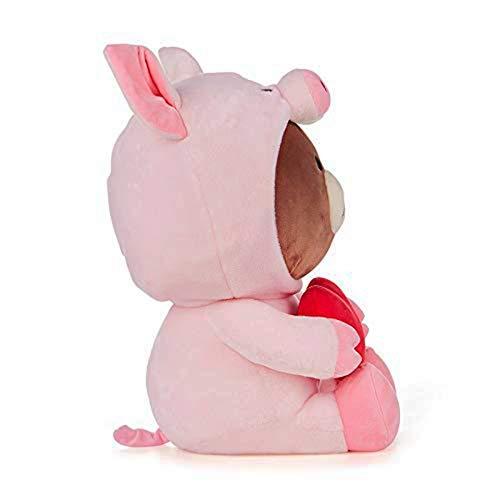 Puppe djxgnbm Plüschtier Kissen Spielzeug Dressing bär plüsch Puppe kreative Valentinstag geständnis Geschenk plüschtier 30 cm