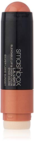 Smashbox L.A. Lights Blendable Lip and Cheek Color Lipstick, Silver Lake Sunset, 0.17 Fluid Ounce