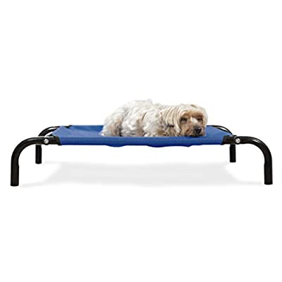 Furhaven Pet Elevated Reinforced Dog Bed