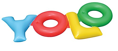 Double Pool Float - Swimline Yolo Pool Float