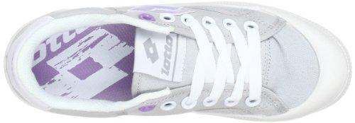 Lotto Sport DIXIE Q5103 - Zapatillas de lona unisex Gris (Grau (LUNAR G/AFR.VIO))