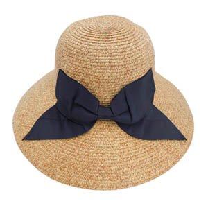 麦わら帽子 レディース UVカット