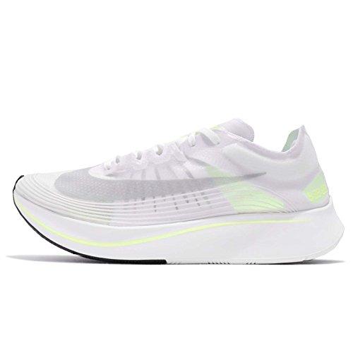Nike Men Zoom Fly SP, White/Volt Glow-Summit White WHITE/VOLT GLOW-SUMMIT WHITE