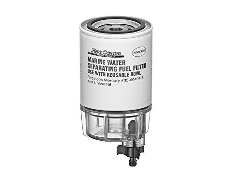 Five Oceans Fuel Water Separator Filter w/See-Thru Bowl ()