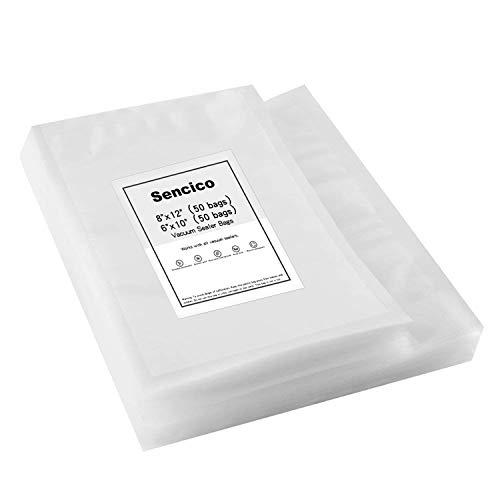 100 Vacuum Sealer Bags:50Pint (6