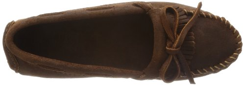 Minnetonka Kilty Driving Moc 593 Damen Mokassins Braun (Brown Ruff 3)