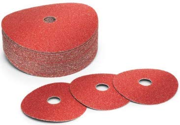 7X5/8-11 24-Grit, Ceramic Discs (25/Pkg.) by AFT Products