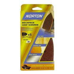 Norton multi Schleifer, 5 Stück Schlittschuh perfores auto agrippants 105 x...