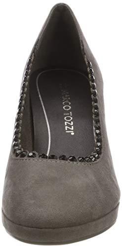 239 22409 dk grey Tozzi 21 239 Zapatos Marco De 2 Gris 2 Tacón Mujer Para 1RXTwZ