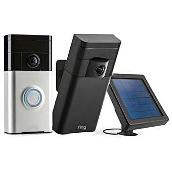 Amazon Com Ring Smart Security Kit Wifi Night Vision