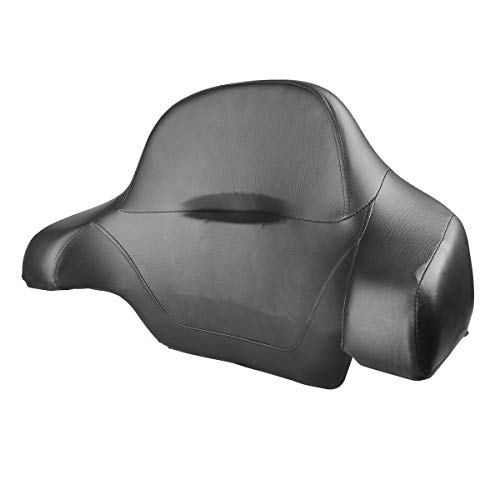 XMT-MOTO Tour Pak Trunk Back Rest Pad Tail Box For Harley Touring Models FLT, FLHT, FLHTCU, FLHRC, Road King, Road Glide, Street Glide, Electra Glide, Ultra-Classic 2014 2015 2016 2017 - Touring Harley Flt Motorcycles