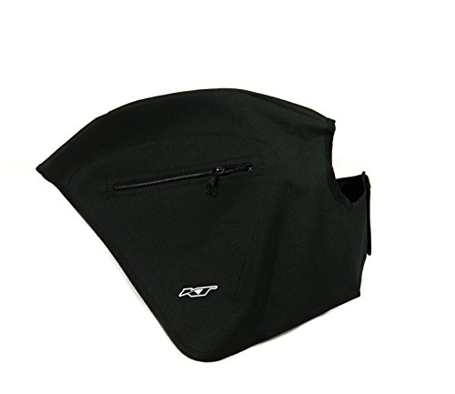 paraveste hinten für Fahrrad. Regenschutz für Fahrrad Universal, mit 2Taschen. Polyester. Farbe Schwarz. Made in Italy (parvst _ 27)