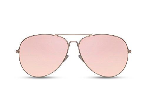 Espejadas UV Amarillo Piloto Aviador 018 Mujeres Ca Metálicas Cheapass Gafas Gafas Diseñador Sol Hombres 400 de 0wFIR
