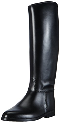 HKM–Botas de equitación estándar con cremallera Negro - negro