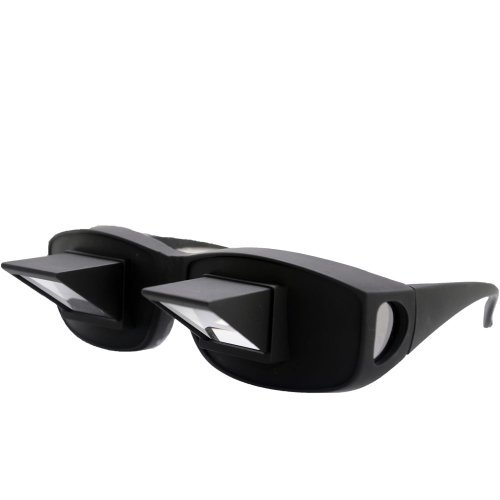 THG Horizontal Lazy Glasses High Definition Glasses Periscope Lie Down Watch Read TV Down Periscope ()