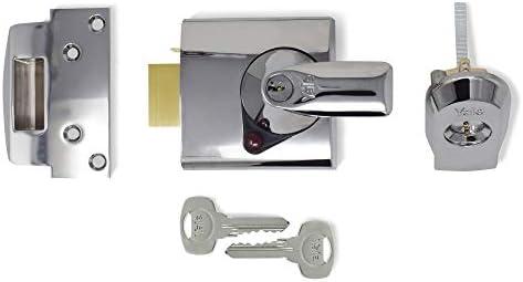 Yale Locks BS2 Visi Pack - Cerradura de Seguridad BS (4 cm), Color Cromado [Importado de Reino Unido]: Amazon.es: Bricolaje y herramientas