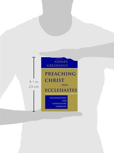 Preaching Christ from Ecclesiastes: Foundations for Expository